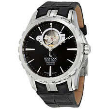 Edox Grand Ocean Black Dial Mens Watch 85008 3 NIN