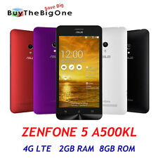 "Asus Zenfone 5 A500KL 4G LTE 5"" HD Cellulare Smartphone Android 4.4 2GB/8GB"
