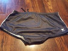 TYR Men's Mesh Swim Brief Black Size 30 JUICY Adjustable Waist Lined