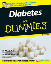 Diabetes For Dummies by Sarah Jarvis, Alan L. Rubin (Paperback, 2007)