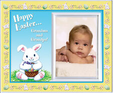 Happy Easter Grandma Grandpa - Picture Frame Gift    362