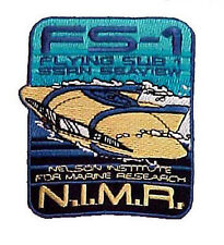 """Voyage to Bottom of Sea Flying Sub 3.5"""" Costume Patch- FREE S&H (VBPA-01)"""