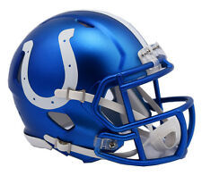 "INDIANAPOLIS COLTS ""BLAZE"" NFL Riddell SPEED Full Size Replica Football Helmet"