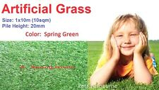 10sqm/pk 20mm pile landscape synthetic lawn/turf artificial grass spring 3 color