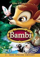 WALT DISNEY - BAMBI - 2 DISC SPECIAL EDITION DVD MOVIE - NEW!