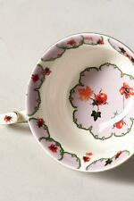 New Set of 4 Anthropologie Nature Table Teacup Ladybug Cup Flower by Lou Rota