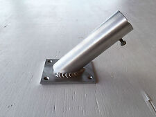 Aluminium Flag Pole Holder, Will Accept 32mm, Wall Mounted Tig Welded No Rust
