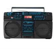 Lasonic I-931BTQ Bluetooth Music System Boombox High Performance with USB Flash