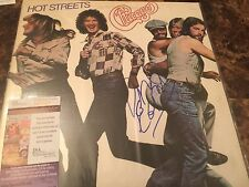 Peter Cetera Signed Hot Streets Chicago LP JSA Authenticated COA DL5