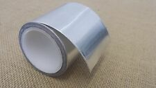 1x 48mm x 10m Yuzet Aluminium Foil Insulation Silver Tape Duct Heat Reflecting