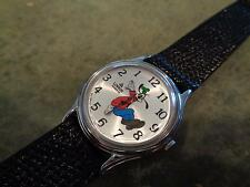 Vintage Lorus Seiko Goofy Backwards Watch Walt Disney V516-6A00 V516 6A00 RARE