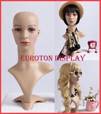 FDFD Eurotondisplay Dekokopf Perückenkopf Schaufensterpuppe Mannequin Weiblich