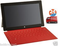 Genuine Red Touch Cover Keyboard for Microsoft Surface RT And Pro New