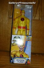 "DC Comics Batman Unlimited REVERSE FLASH Professor Zoom 12"" inch Yellow"