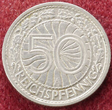 Germany 50 Pfennigs 1927 A (C1212)