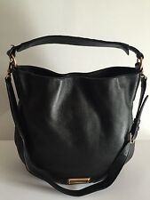 Marc By Marc Jacobs (New Model) Q Hillier Hobo Black Leather Handbag MSRP $ 428