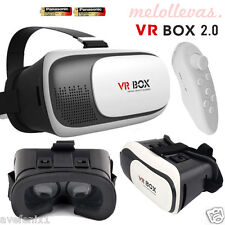 Gafas VR BOX 2.0 3D - Realidad Virtual Samsung Sony + Mando Bluetooth + Pilas