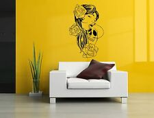 Wall Room Decor Art Vinyl Sticker Mural Decal Pin Up Girl Tattoo Poster SA319