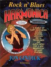 Rock N' Blues Harmonica by Jon Gindick (2000, CD / Paperback, Revised)