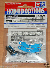 Tamiya 54651 TT-02 Type-S Aluminum Upper Arm Mount (2 Pcs.) (TT02 Type-S Drift)