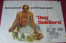 Cinema Poster: DOG SOLDIERS 1978 (Quad) Nick Nolte