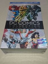 DC Comics Collection Volume 2 4 Disc Blu-Ray & 4 Book Graphic Novel Set