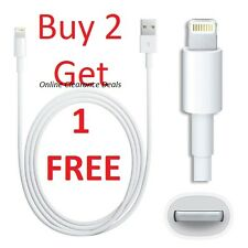 Genuine USB Sync & Charger Data Lead Cable For Apple iPhone 5 6S iPad 4 Air Mini