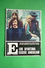Magazine E L'ESPRESSO N.17/1967 STATI UNITI GIOVANI HIPPIES SI APPELLANO A BUDDA