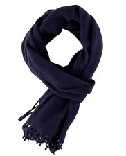 NWT - NORSE PROJECTS 'MILANGE SIGURD' Navy WOOLEN SCARF / N95-0394
