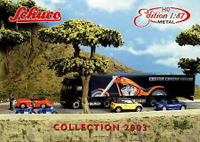 Prospekt D GB Schuco Collection 1:87 Metal 2003 Modellautos Miniaturmodelle