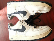 nike air force 1 '82 kids boys girls trainers  314192-147 size 5.5 white blue