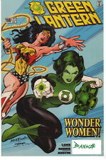 Darryl Banks SIGNED Green Lantern #108 DC Comic Art Print Wonder Woman & Jade