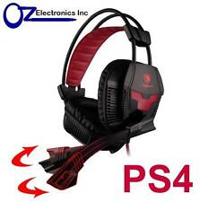 SADES SA-706 PC Xpower PS4 Gaming Headset Mic Chat BRAND NEW Genuine AUSTRALIA