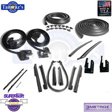 69-72 Buick Oldsmobile Body Weatherstrip Seal Kit Convertible 17 Pieces New