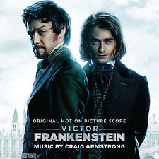 VICTOR FRANKENSTEIN Craig Armstrong CD La-La Land SCORE SOUNDTRACK New Sealed