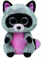 TY 15cm ROCCO BEANIE BOOS RACCOON - PLUSH CUDDLY NEW GIFT WITH TAG