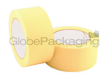 2 Rolls Of Masking Tape 50mm x 50M Painting Scotch Tape