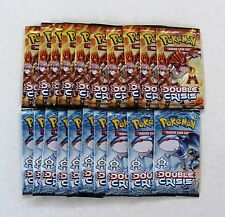 Pokemon Team Magma / Aqua Double Crisis lot of 20 Factory Sealed Booster Packs
