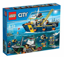 LEGO City Tiefsee-Expeditionsschiff (60095) Neu & OVP