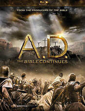 A.D. The Bible Continues (Blu-ray Disc, 2015, 4-Disc Set) NEW