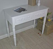 Sekretär Tisch weiß antik shabby chic Landhaus Cottage Konsole Anrichte Rosali