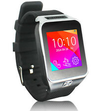 2-in-1 GSM Bluetooth Smart Watch Phone w/ Camera Pedometer Sleep Monitor Radio