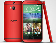 HTC One M8 32GB  6.0.0  RED + unlocked to all networks