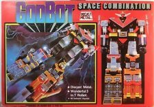 GODBOT SPACE COMBINATION 1980 VINTAGE FANTASTIC CHOGOKIN DIE-CAST TAIWAN VERSION