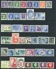 CANADA 1953 ONWARD COLLECTION MINT & USED