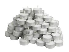 IKEA 100 Tealight Candles Unscented Home Holiday Party Decor GLIMMA