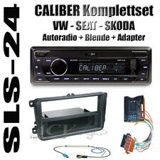 Skoda Superb Roomster Fabia Autoradio SD USB ISO Adapter Blende Antenne Stecker