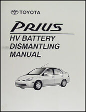 Toyota Prius Battery Safe Removal Manual 2001 2002 2003 Dismantling Book