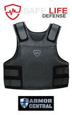 Safe Life Defense Level IIIA Body Armor Multi-Threat Bullet Proof Vest  2X-Large
