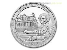 America the Beautiful ATB Frederick Douglass D. of Columbia USA 5 oz Silber 2017
